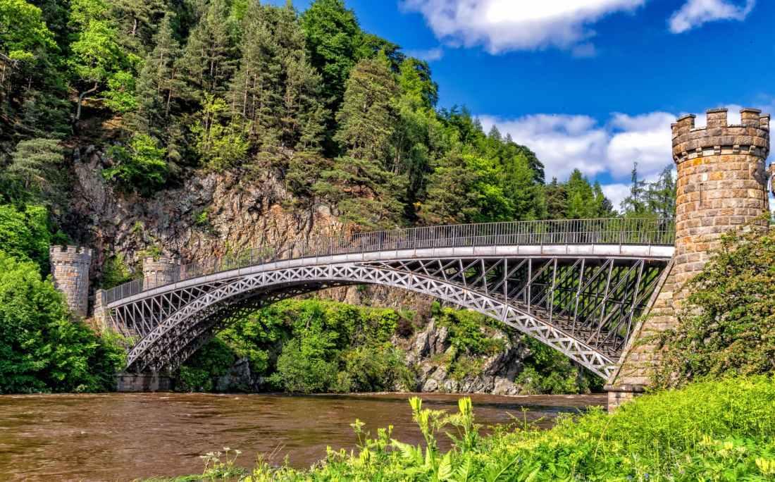 architecture art bridge cliff